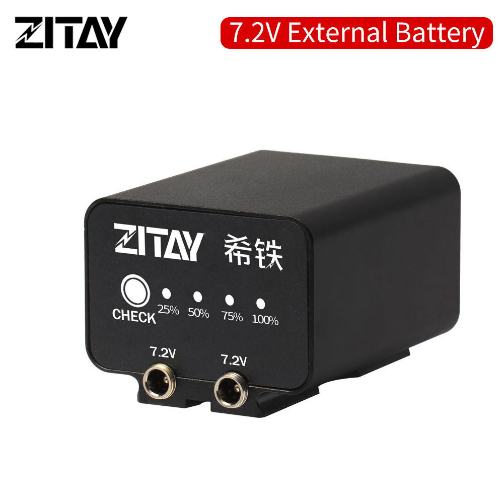 ZITAY CANON 5D4 5D3 R5 80D DSLR LP-E6 External battery