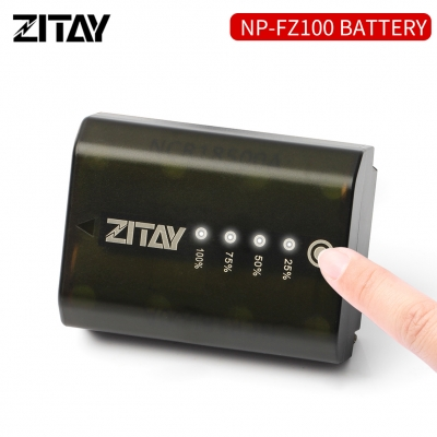 SONY NP-FZ100 Rechargeable Battery for A73-A7R3-A7M3 A6600 DSLR SLR Cameras